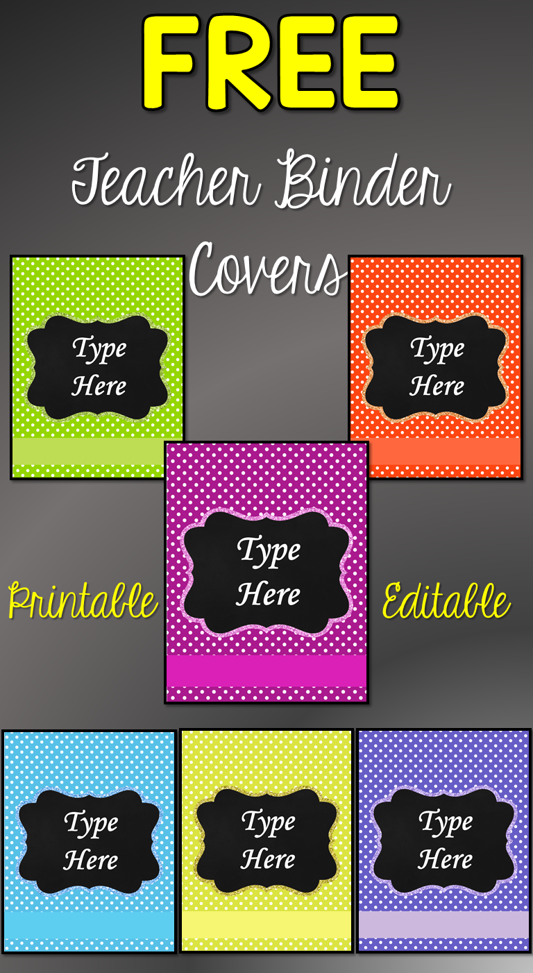 You will have a more organized binder with these free printable binder covers. Includes 6 designs. Excellent for school binder, bullet journal and #schoolbinder #bulletjournal #divider #freeprintables #planner